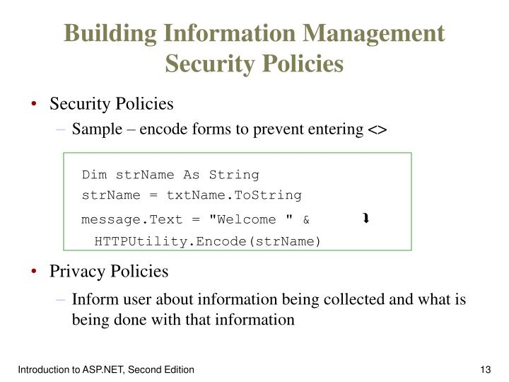 Building Information Management