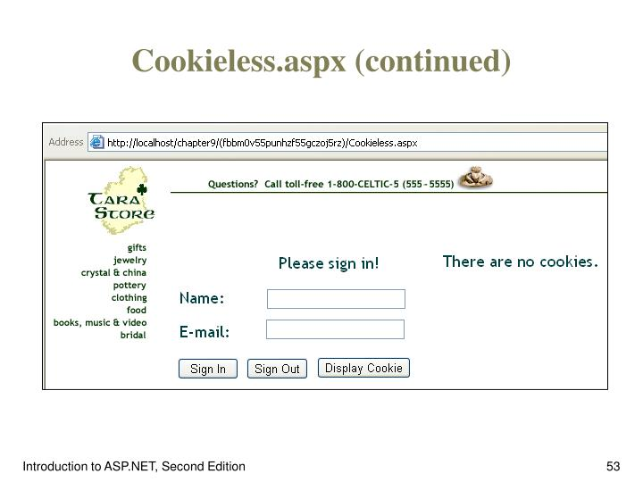 Cookieless.aspx (continued)