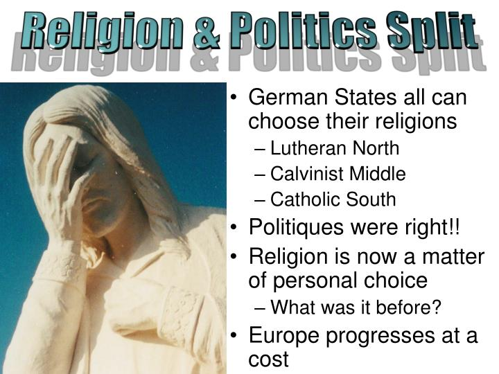 Religion & Politics Split
