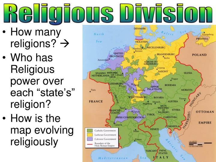 Religious Division