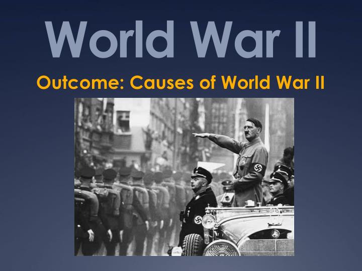 World War 2 Essays