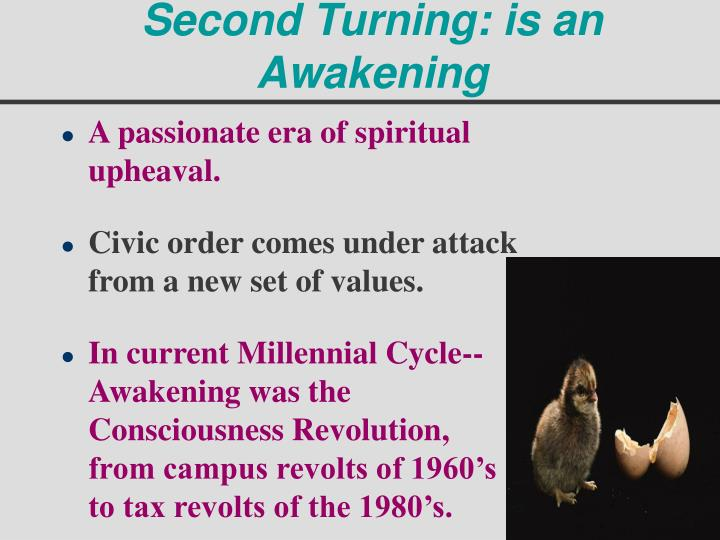 Second Turning: is an Awakening