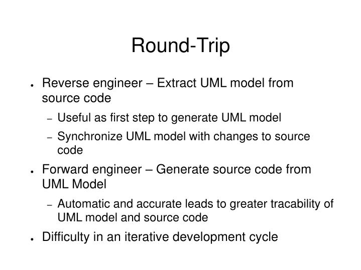 Round-Trip