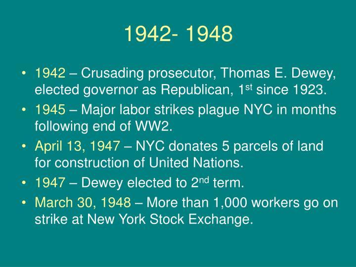 1942- 1948