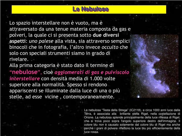Le Nebulose