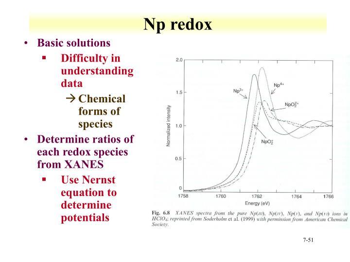 Np redox