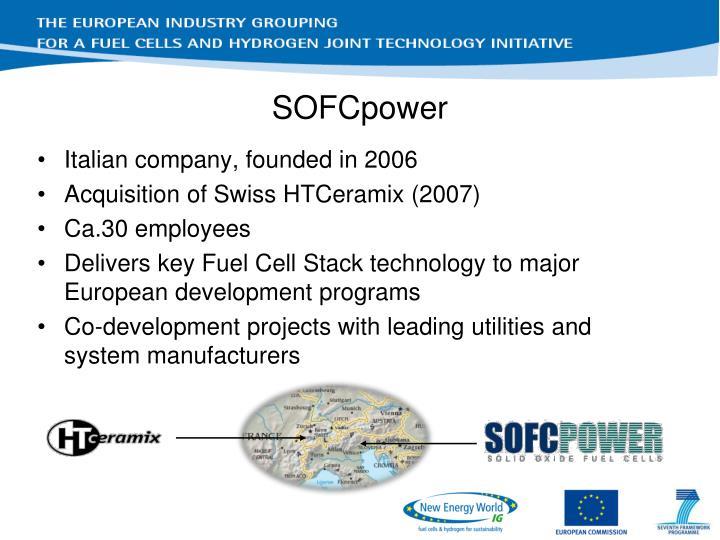 SOFCpower