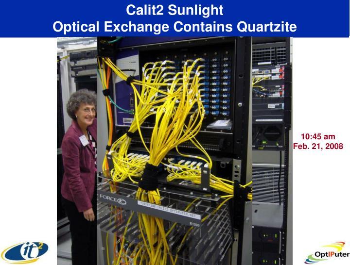 Calit2 Sunlight