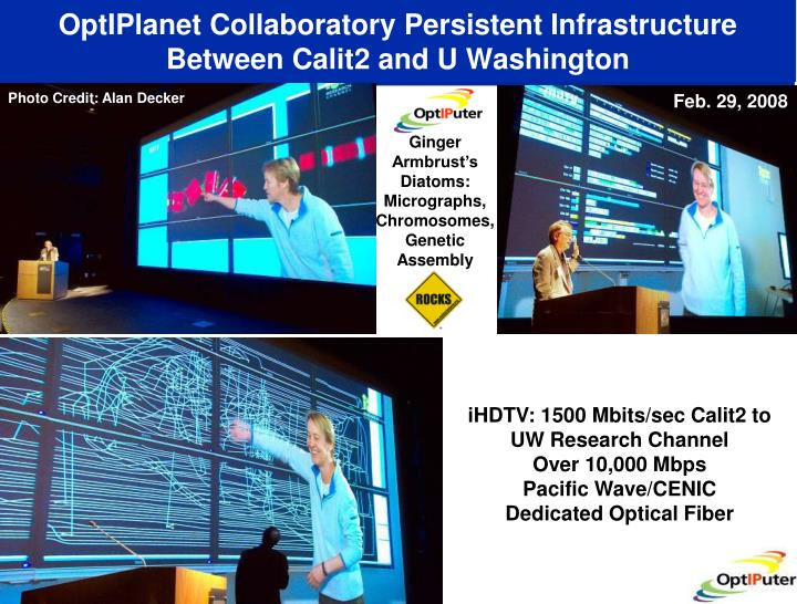 OptIPlanet Collaboratory Persistent Infrastructure
