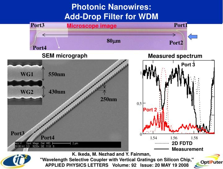 Photonic Nanowires: