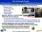 the greenlight project instrumenting the energy cost of computational science