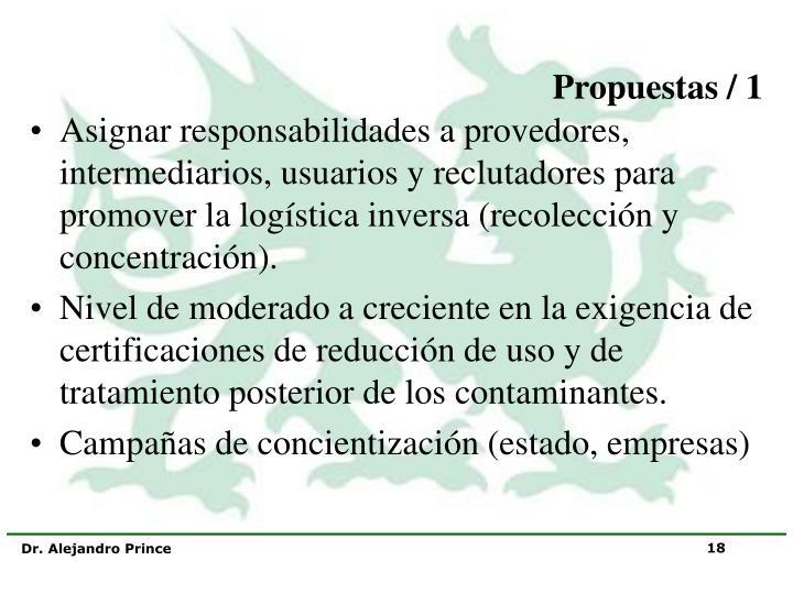 Propuestas / 1
