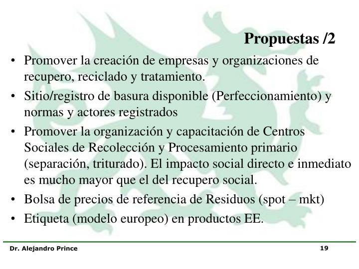 Propuestas /2