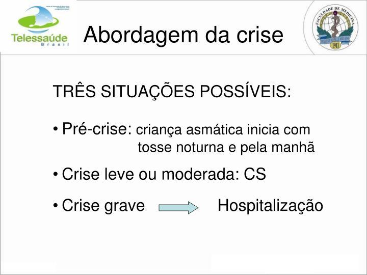 Abordagem da crise
