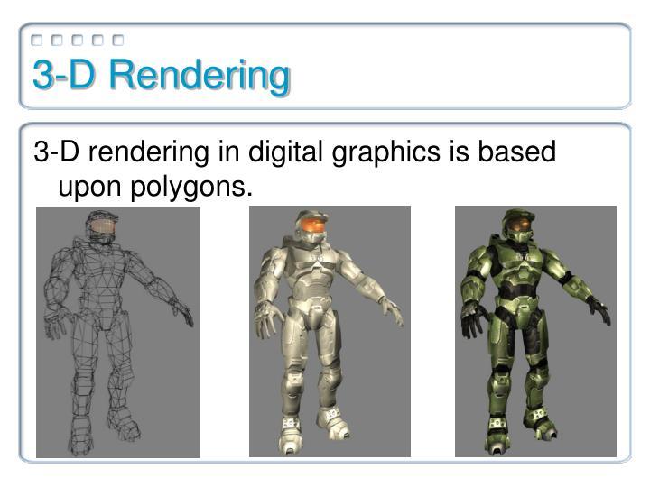3-D Rendering