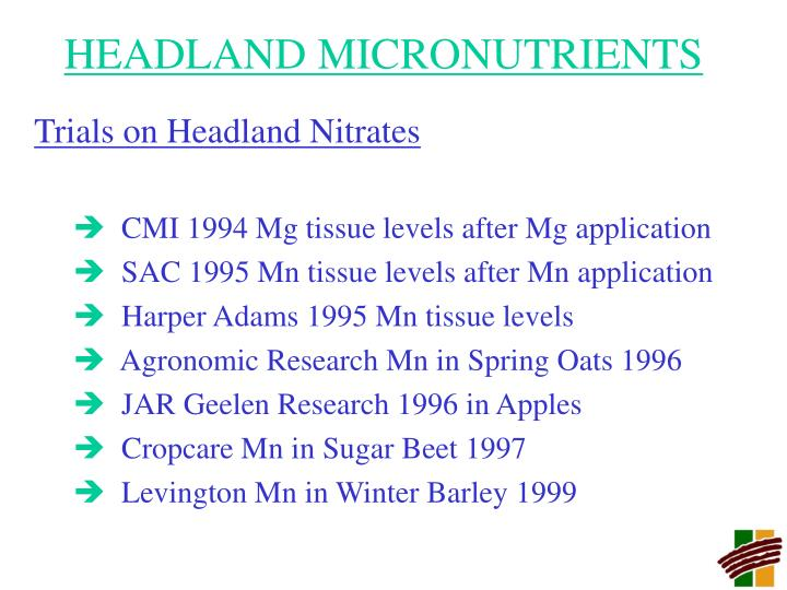 Headland micronutrients2