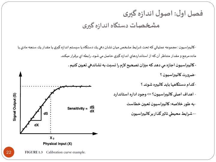 فصل اول: اصول اندازه گیری