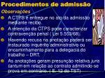 procedimentos de admiss o2