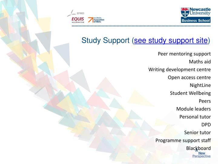 Study Support (
