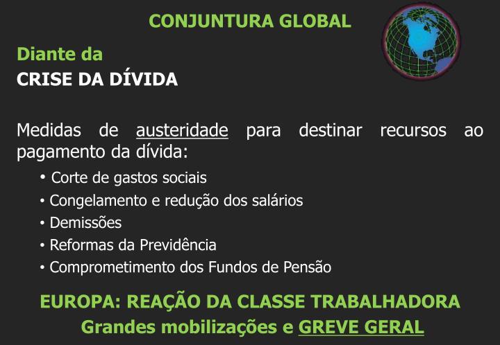 CONJUNTURA GLOBAL