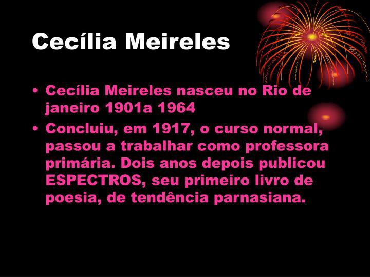 Ceclia Meireles