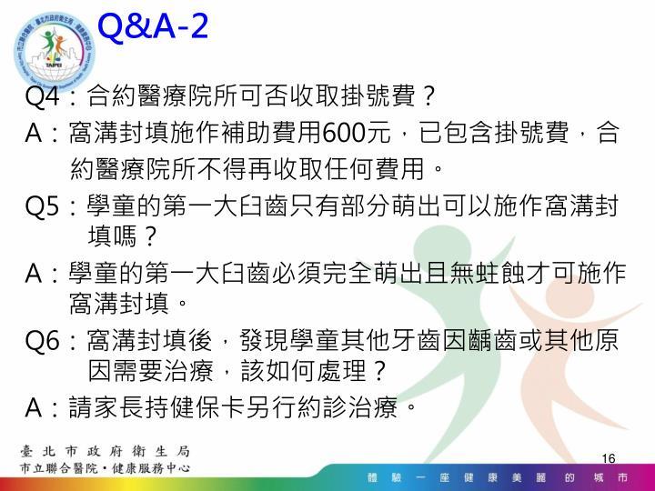Q&A-2