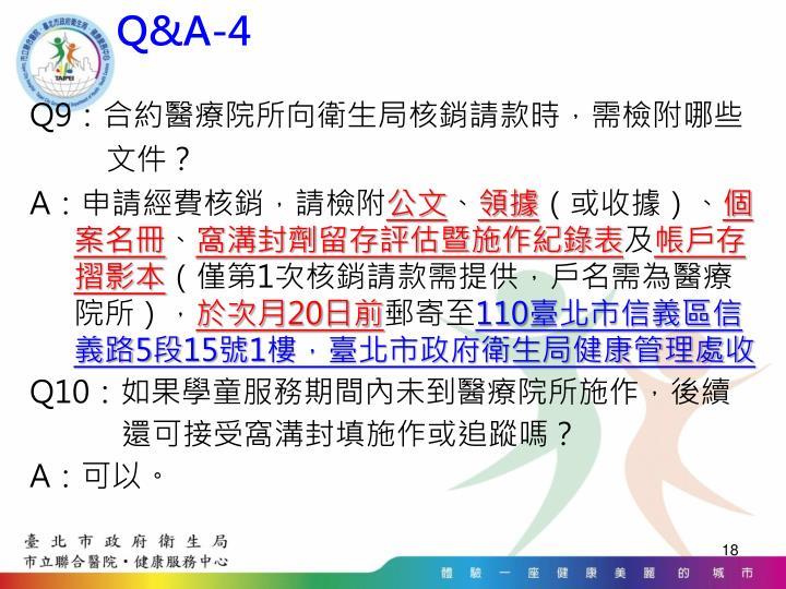 Q&A-4