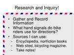 research and inquiry3