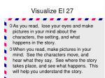visualize ei 27