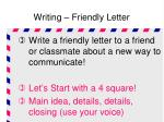 writing friendly letter3