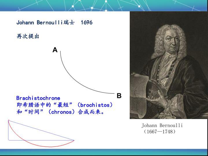 Johann Bernoulli瑞士