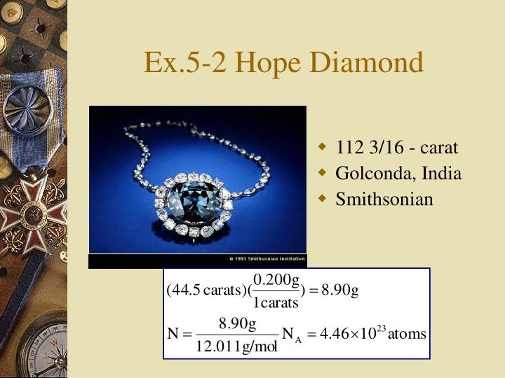 Ex.5-2 Hope Diamond