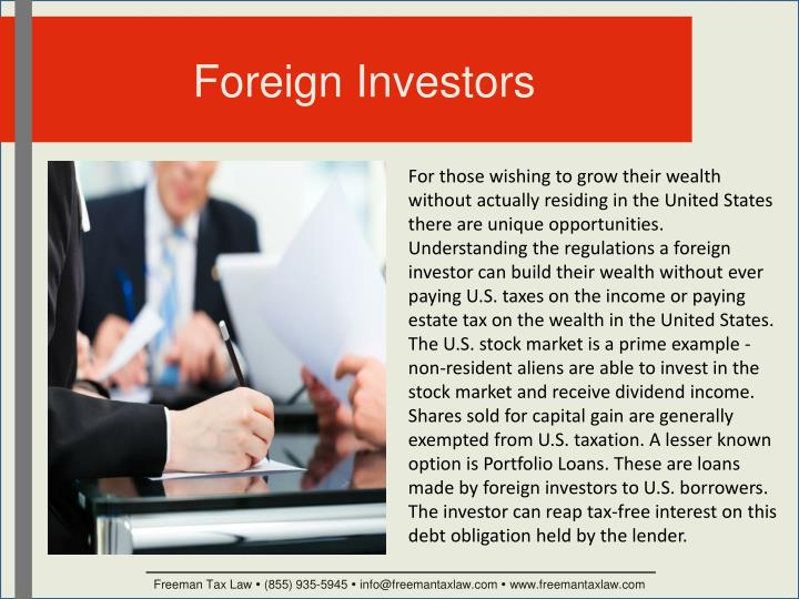 Foreign Investors