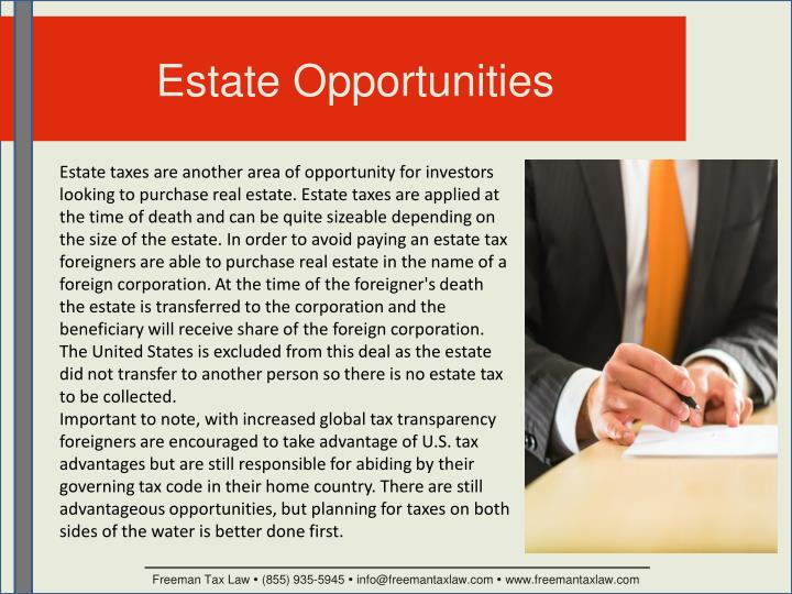 Estate Opportunities