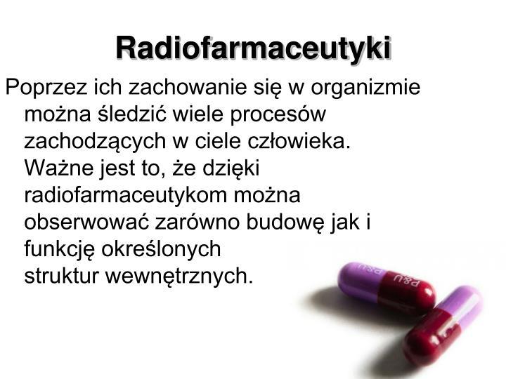 Radiofarmaceutyki