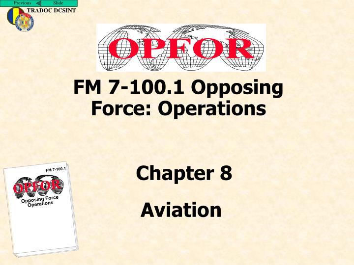 FM 7-100.1