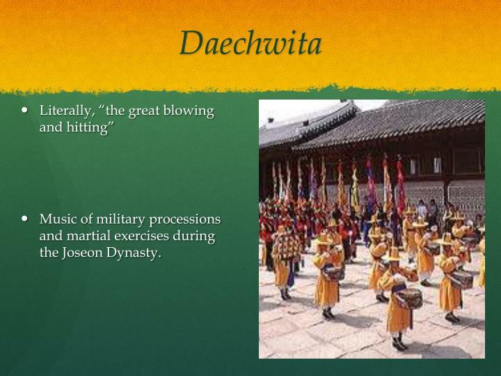 Daechwita