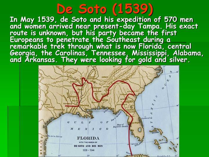 De Soto (1539)