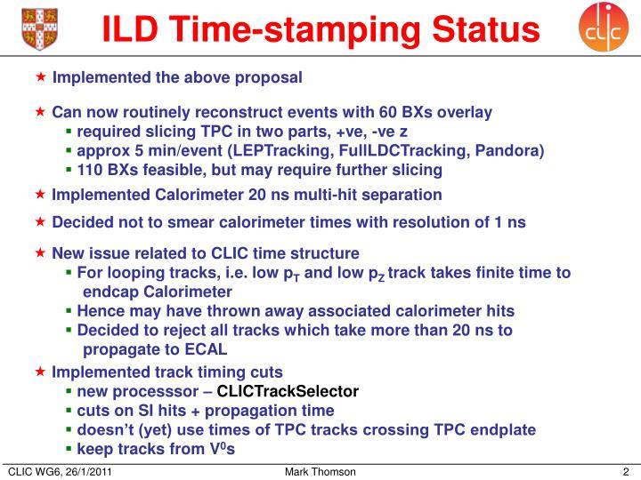 ILD Time-