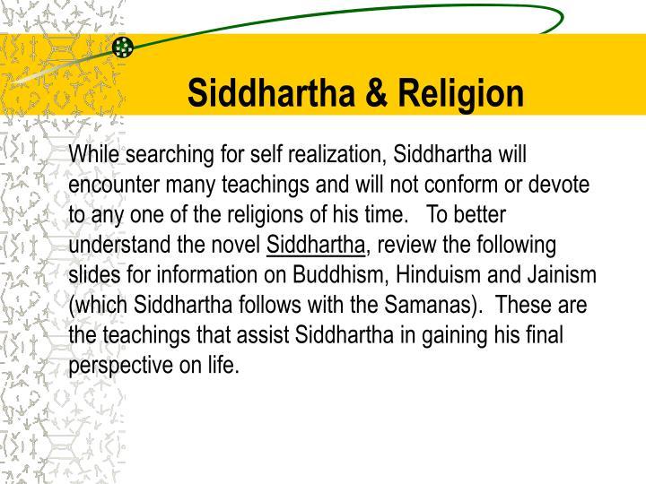 Siddhartha & Religion