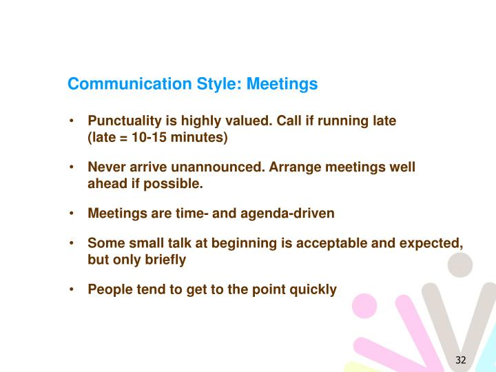 Communication Style: