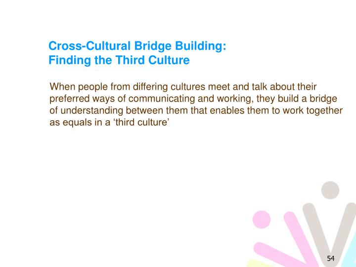 Cross-Cultural Bridge Building: