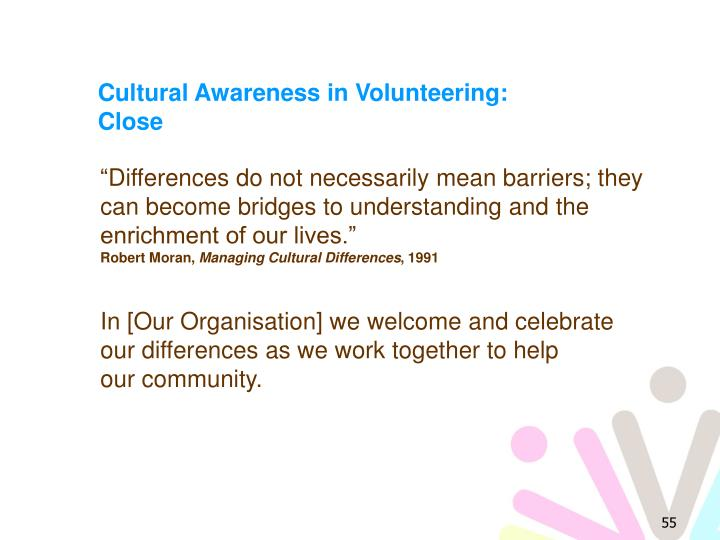 Cultural Awareness in Volunteering: