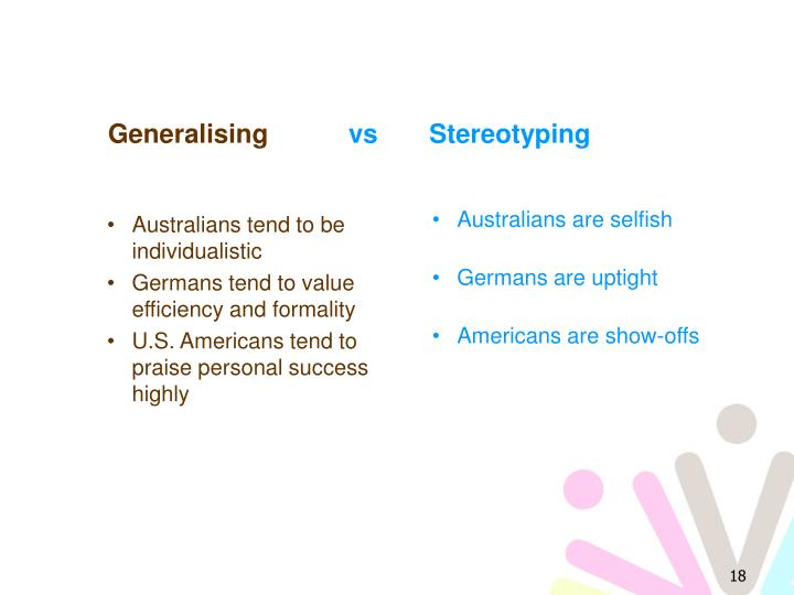 Australians tend to be individualistic
