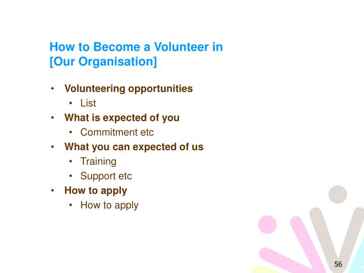 How to Become a Volunteer in