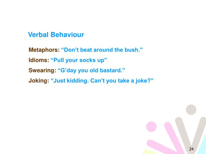 Verbal Behaviour