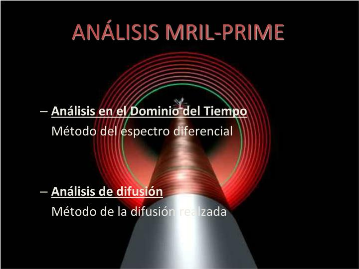 ANÁLISIS MRIL-PRIME