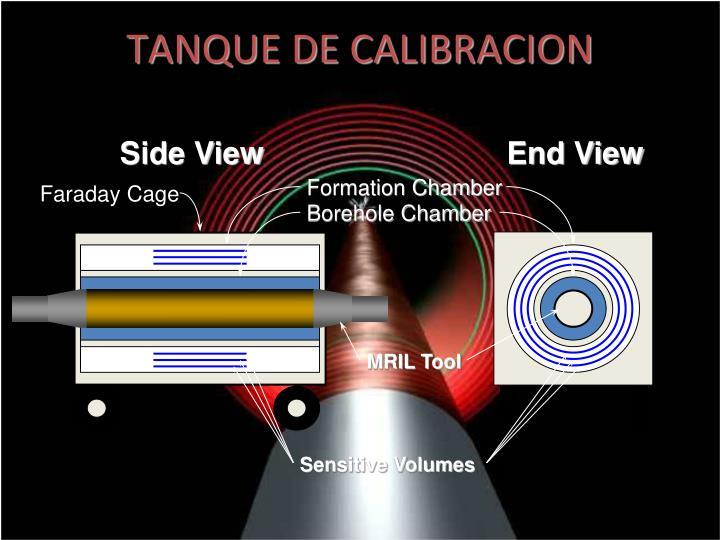 TANQUE DE CALIBRACION