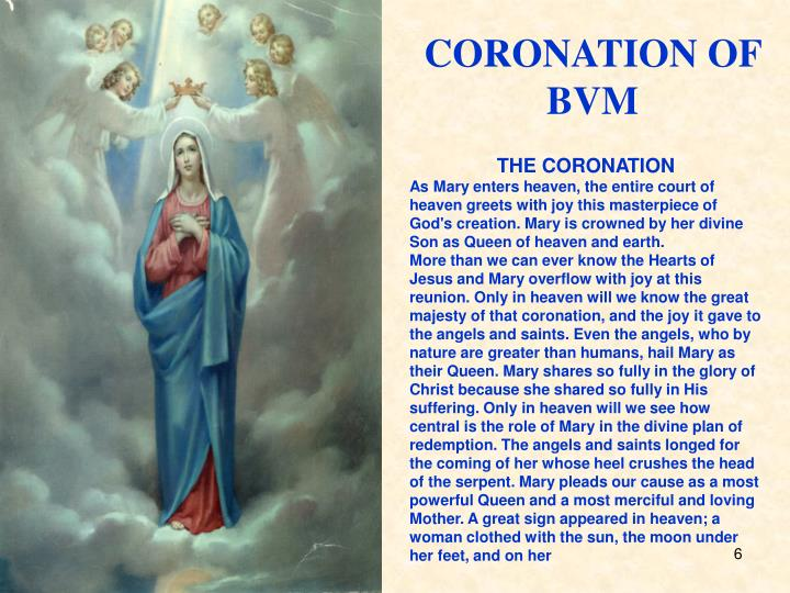CORONATION OF BVM