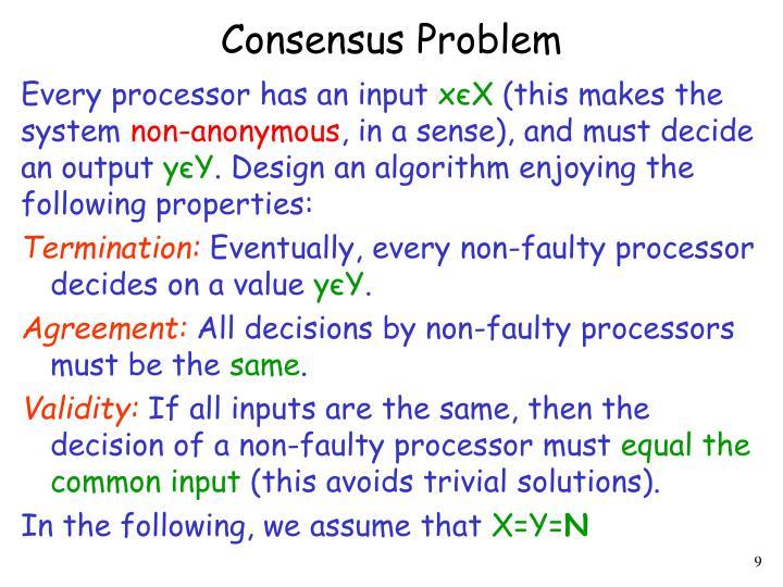 Consensus Problem